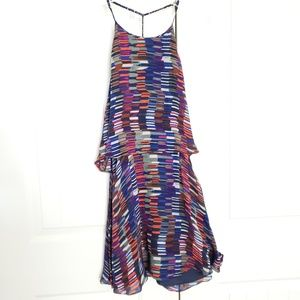 Dolce Vita layered silk dress with pockets